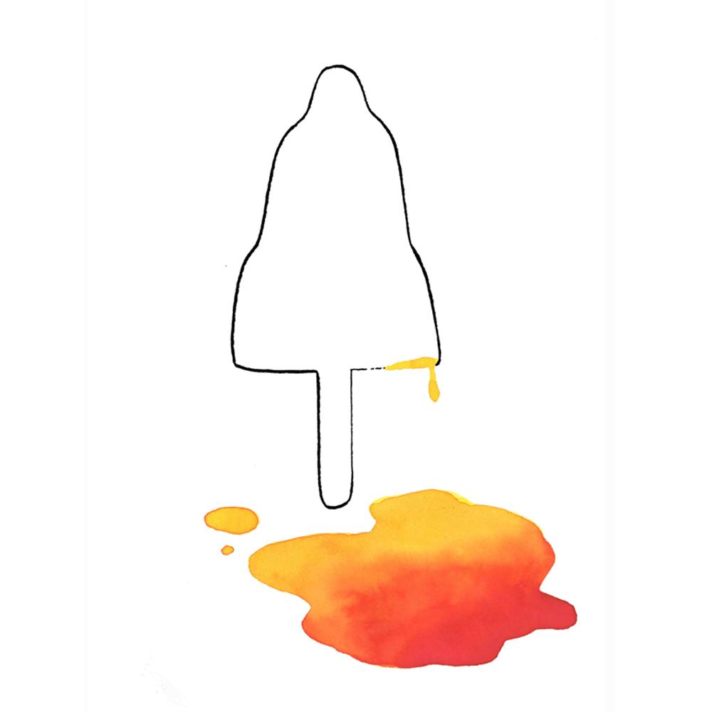 raketje | tekening door Cynthia Borst