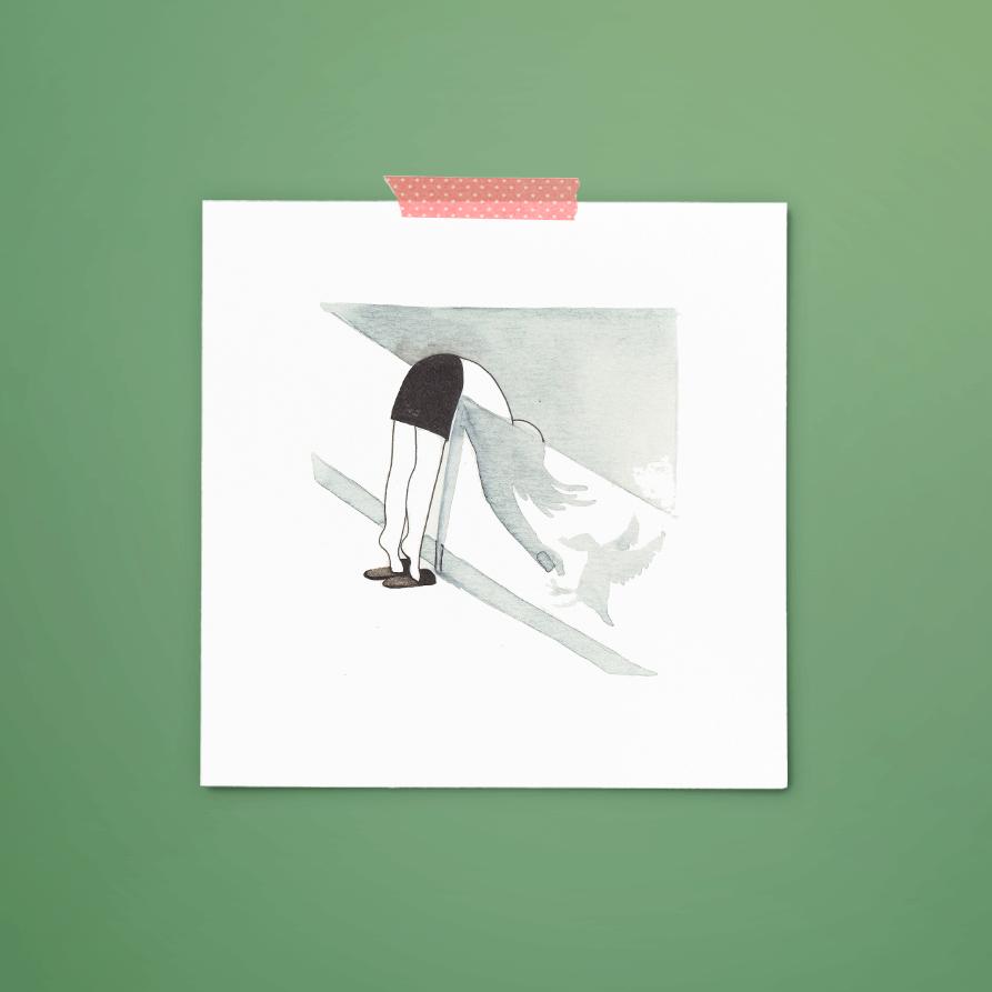 print 012 van 365+1 | tekening door Cynthia Borst