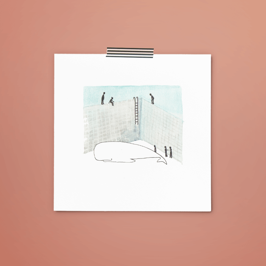 print 014 van 365+1 | tekening door Cynthia Borst