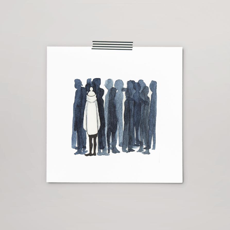 print 016 van 365+1 | tekening door Cynthia Borst