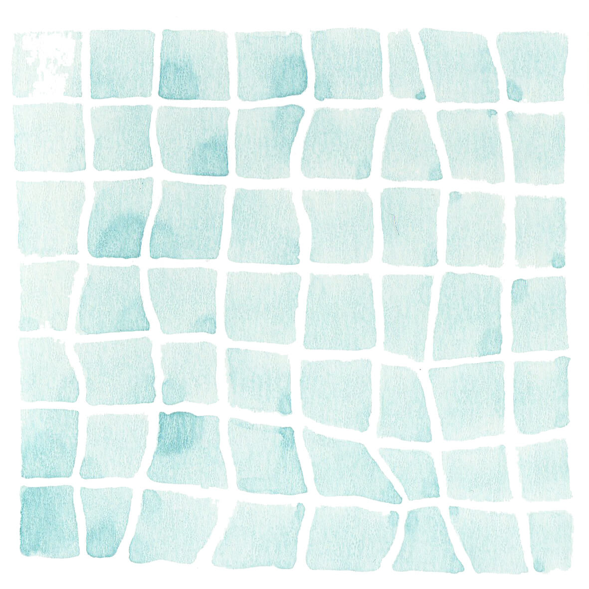 zwembad | tekening door Cynthia Borst