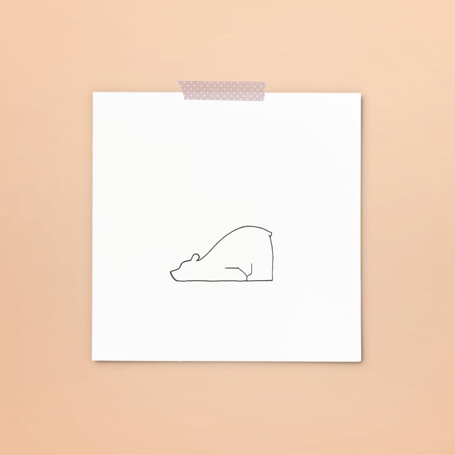 print 230 van 365+1 | tekening door Cynthia Borst