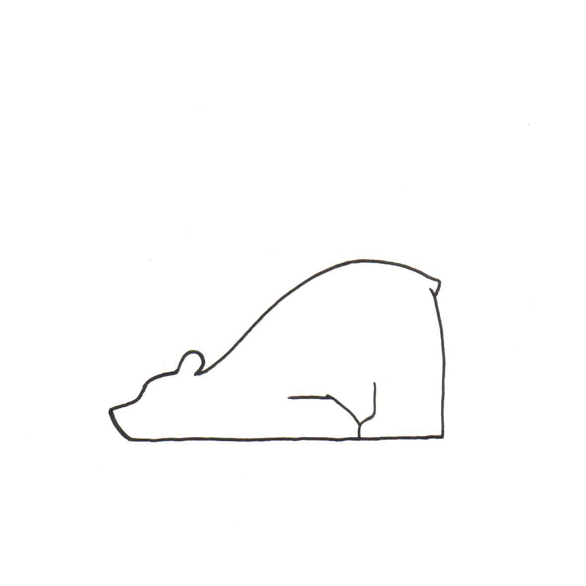 beer | tekening door Cynthia Borst