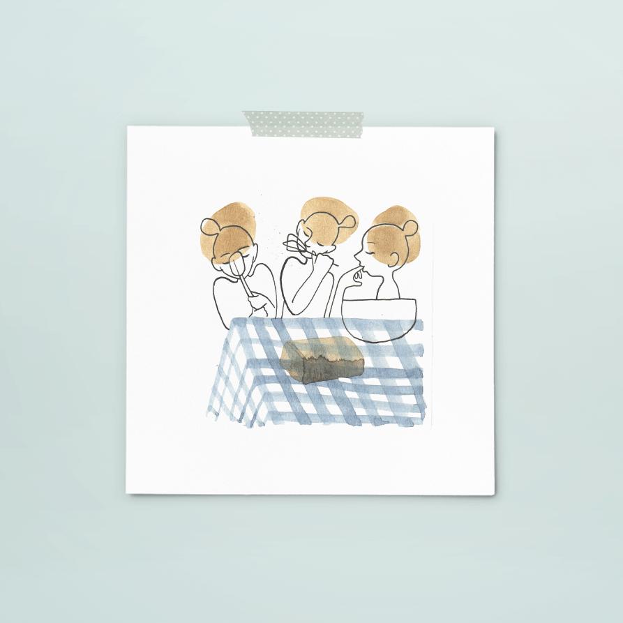 print 317 van 365+1 | tekening door Cynthia Borst