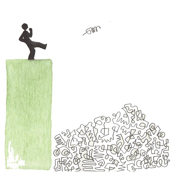 rommel | tekening door Cynthia Borst