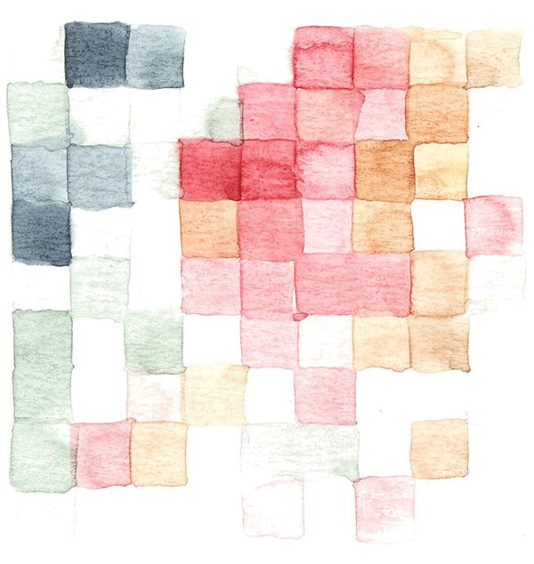 mijn lievelingskleuren | tekening door Cynthia Borst